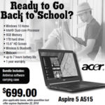 Back to School Laptop Special 2018